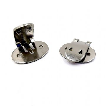 Metal Shoe Clip 19mm x 20 mm  x 4 pcs